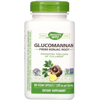 Glucomannan from Konjac Root, 1,995 mg, 180 vcaps