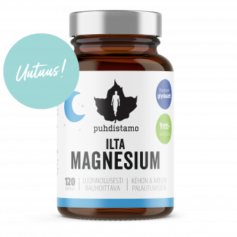 Ilta Magnesium 120 kaps