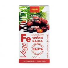 Multi Vege Rauta Fe 30 x 20ml