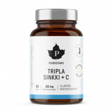 Tripla Sinkki + C - 120 kaps