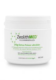 Zeolite MED® detox ultrafine powder 210g