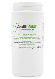Zeolite MED® 200 detox capsules