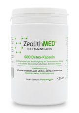 Zeolite MED® 600 detox capsules